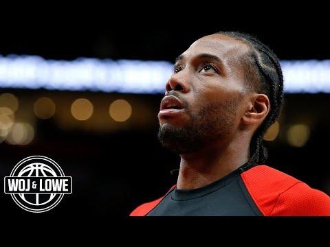 Raptors nervous about Kawhi Leonard's free agency | Woj & Lowe