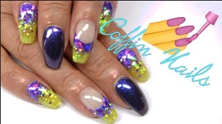 How to - Coffin nails gel   UnderTheLilyShadow