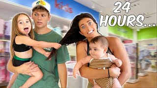 BECOMING PARENTS FOR 24 HOURS