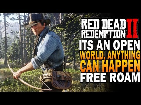 Its An Open World, Anything Can Happen - Red Dead Redemption 2 Free Roam