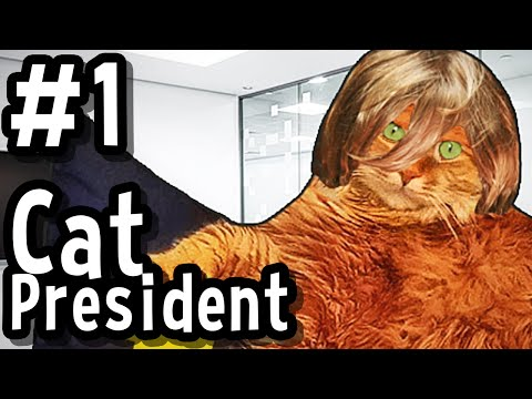 Cat President ~ A More Purrfect Union #1 - TRUMP THE CAT
