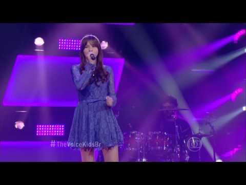 Gisele Arruda canta 'Frio' no The Voice Kids - Audições|1ª Temporada