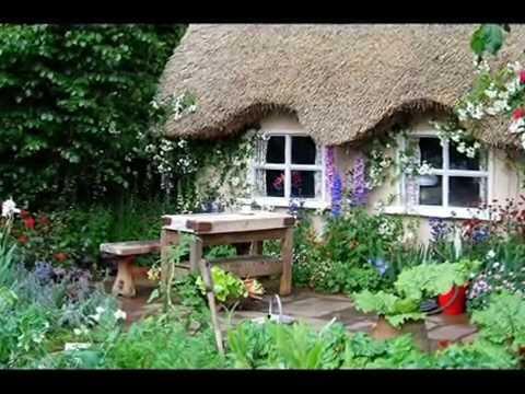 Деревенский стиль в ландшафтном дизайне
