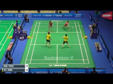Badminton 2017 MalaysiaMaster   LIN Chia Yu WU Ti Jung vs HOO Pang Ron PECK Yen Wei