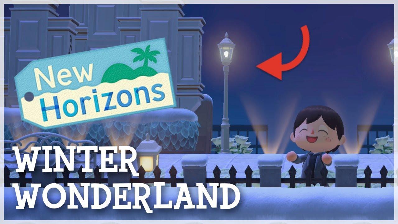 Animal Crossing New Horizons - Winter Wonderland Dream Island Tour
