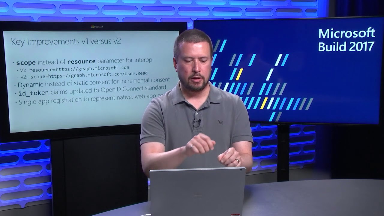 Build 2017 Azure Active Directory v2 endpoint and MSAL What's new