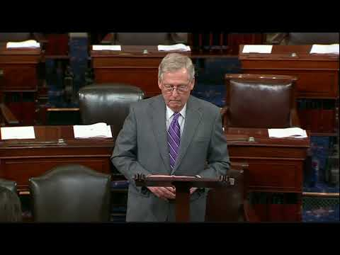 McConnell: Let's Make Law, Not Political Points on Immigration, Border Security