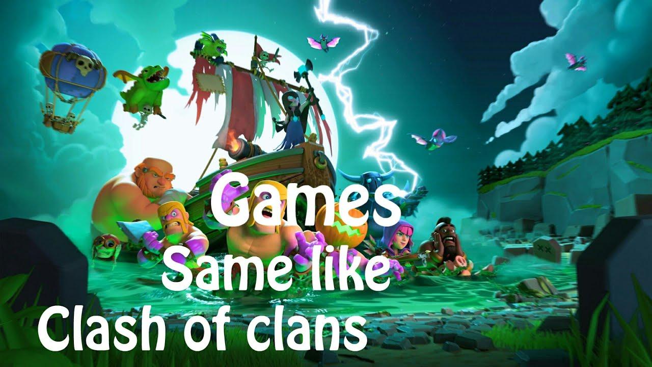 10 Best Games Like Clash of Clans (COC) | NoobieTech