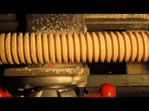 Acer-Ferrous Wooden Screw Production