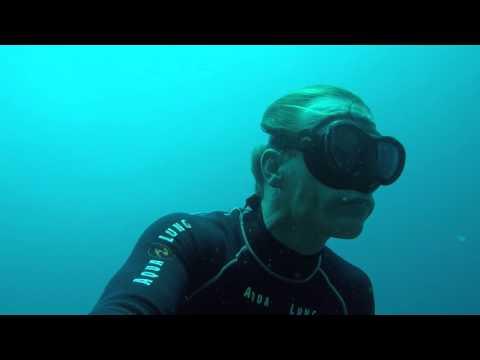 Freediving off the coast of Mactan Island, Cebu in the Philippines - December 2015