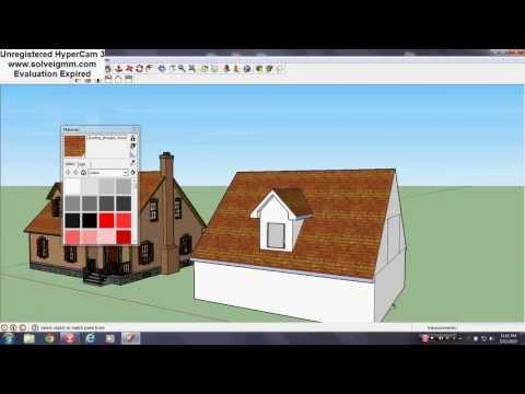 Sketchup Dormer Window Tutorial