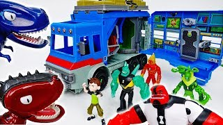 Go Go Ben 10, Tayo And Friends Are Captured By Dinosaurs - ToyMart TV