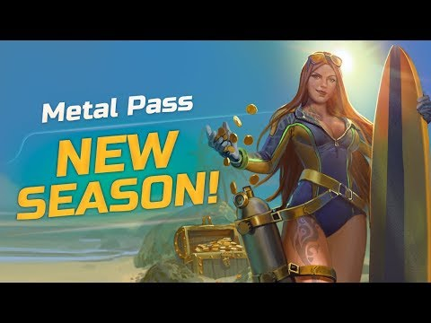 Join T-Bone on the Metal Pass Season 5 opening! 🤘💣