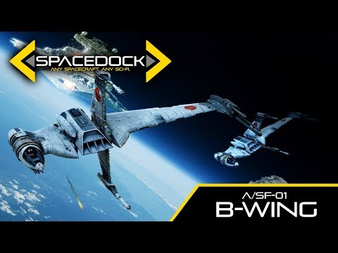 Star Wars: B-Wing (Canon) - Spacedock