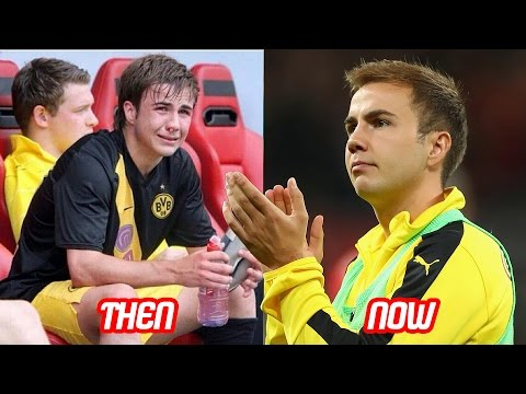 Mario Götze Transformation Then And Now (Face & Hair Style) | 2017 NEW