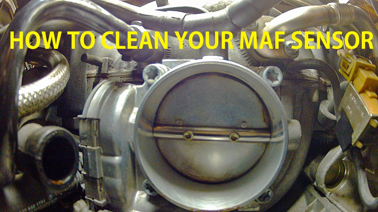 How To Remove And Clean Your Mass Air Flow Maf Sensor On Wiring Diagram Mercedes Benz S500 W220