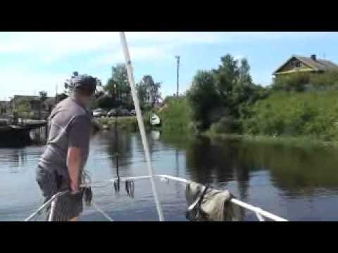 рыбалка на реке лава видео