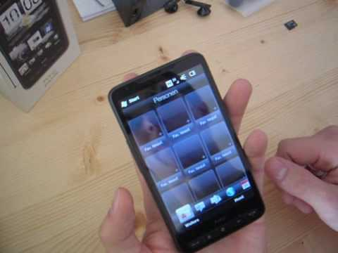 HTC HD2 Unboxing - German / Deutsch