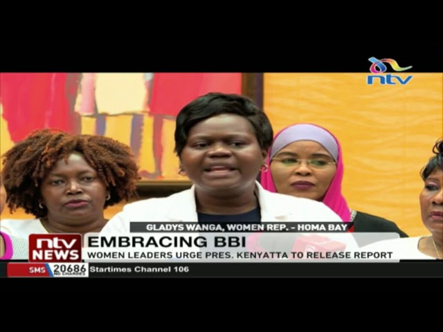 Embrace women call on President Uhuru to speedily release BBI report