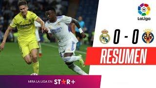 ¡EL MERENGUE Y  EL SUBMARINO AMARILLO EMPATARON EN MADRID! | Real Madrid 0-0 Villarreal | RESUMEN