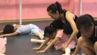 Arella in Ballet Class in china (part 1)