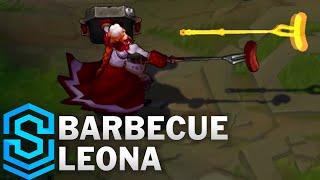 Barbecue Leona Skin Spotlight - League of Legends
