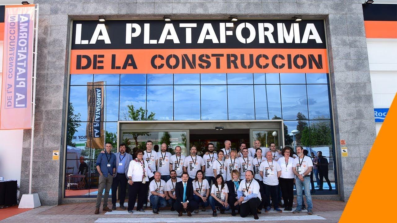 Inauguración La Plataforma de la Construcción Majadahonda - YouTube