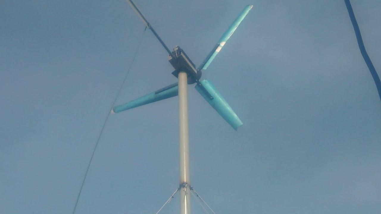 Test máy phát điện gió gửi anh trường hải phòng .  0374528891
