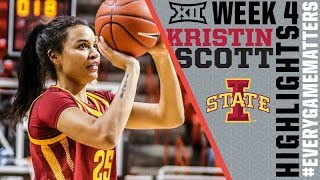 Kristin Scott | Big12 Conference Player of the Week
