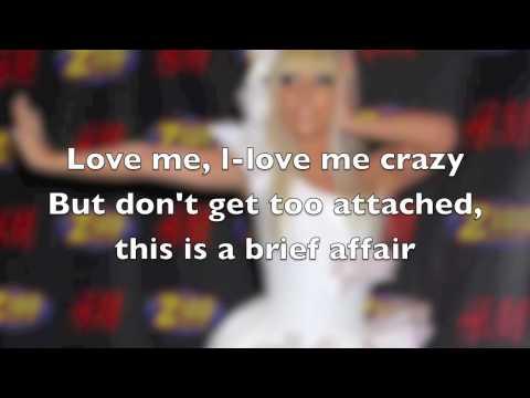Vanity lady gaga lyrics