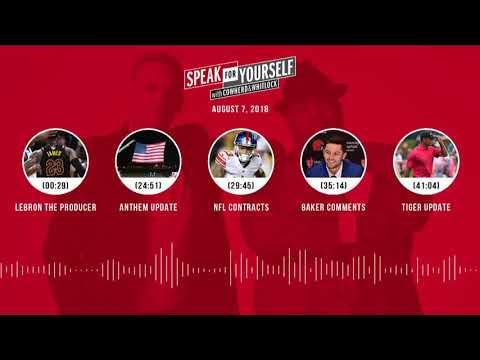 SPEAK FOR YOURSELF Audio Podcast (8.7.18) with Colin Cowherd, Jason Whitlock | SPEAK FOR YOURSELF