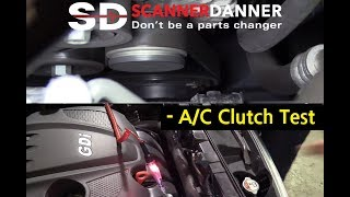 A/C Clutch Intermittently Does Not Engage (2015 Kia Sportage)