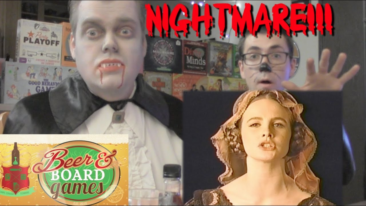 Drunk Nightmare III - VHS Game (Beer and Board Games)