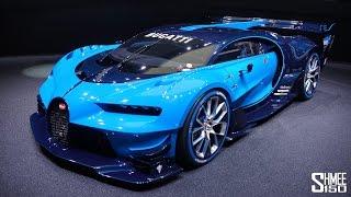 Bugatti Vision Gran Turismo - EXCLUSIVE IN-DEPTH TOUR thumbnail