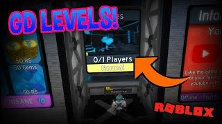 PLAYING GEOMETRY DASH THEMED LEVELS!!! | Flood Escape 2 On Roblox #28