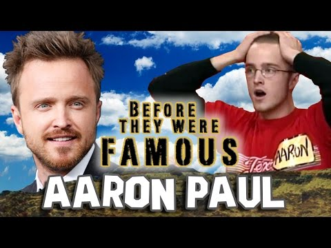 AARON PAUL - Before They Were Famous