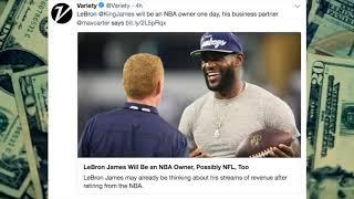 LeBron James: pro sports franchise owner?