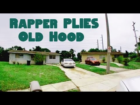 Rapper Plies Old Hood In Fort Myers, Florida
