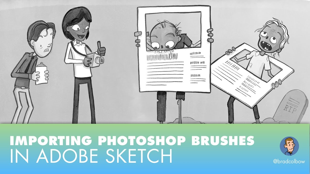 Importing Photoshop Brushes into Adobe Sketch