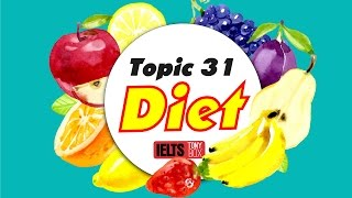 ✪ IELTS Speaking Test Sample Band 9: Topic 32 -  A Meal & Diet.