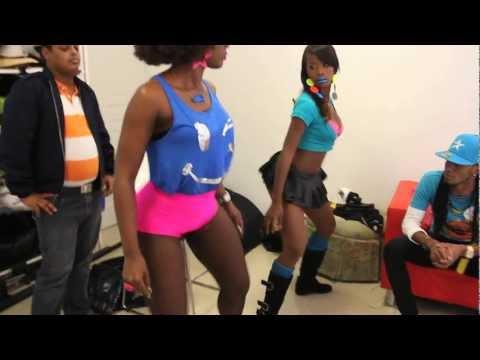 Amara La Negra - El Baile del Ayy (Behind The Scenes )