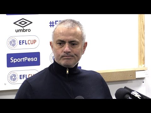 Hull 2-1 Manchester United (Agg 2-3)- Jose Mourinho Full Post Match Press Conference - EFL Cup