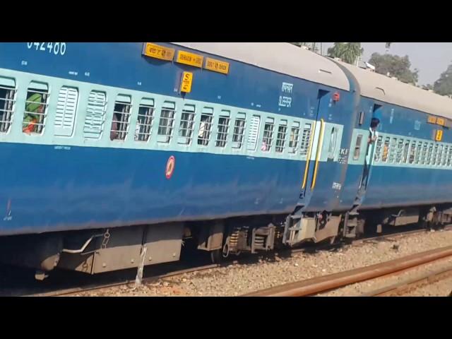 UTKAL express overtaking  at 110kmp