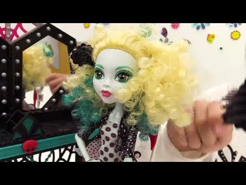 Видео для детей. Игры для девочек: Куклы Монстер Хай (Monster high) спасают Лагуну