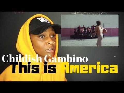 Childish Gambino - This Is America || OFFICIAL VIDEO || REACTION || Khalifa Rashida|