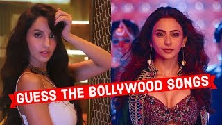 Guess the Song Challenge Bollywood Songs