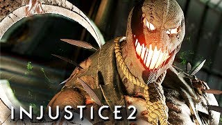 Injustice 2 Gameplay German Multiverse Mode - Scarecrow Story