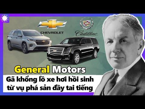 General Motors – Gã Khổng Lồ Xe Hơi Hồi Sinh Từ Vụ Phá Sản Đầy Tai Tiếng