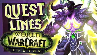WoW Legion - Demon Hunter Quest Line (World of Warcraft Legion)