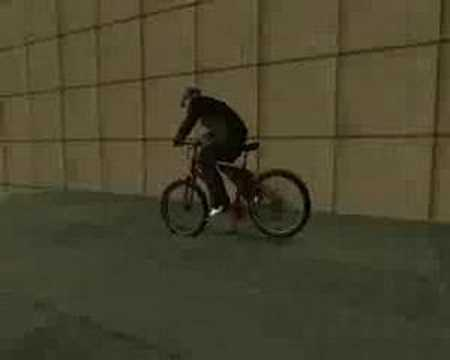 GTA San Andreas Mountain Bike Stunts